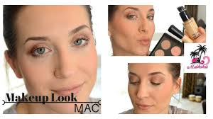mac produkten i makeup tutorial