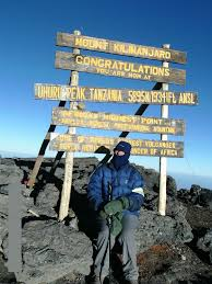 Hilary Cox Kilimanjaro - Walk Cromer