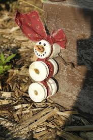 White Porcelain Insulators Used For Electric Fencing On Uncle S Farm Turned Into S Christmas Crafts Decorations Christmas Ornaments Snowman Christmas Ornaments