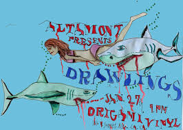Origami: TONIGHT: Altamont Apparel presents Drawlings (Abby Portner)  in-store @ 7pm