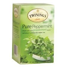 twinings peppermint tea 20 ct box