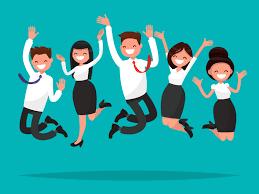 Happy team cartoon - Sapience HR - Human Resources Consultancy ...