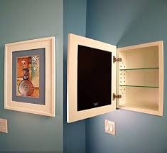 the regular white concealed cabinet a