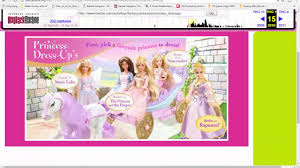 barbie games princess dress up and