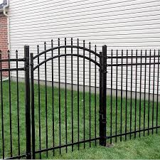China Metal Fence Gate Panel Fence Gate Aluminum Fence Steel Fence Single Garden Fence Gates China Door Metal Door