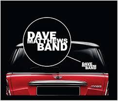 Dmb Dave Mathews Band Window Decal Sticker Sticker Flare Llc
