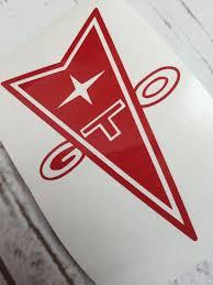 Pontiac Gto Vinyl Decal Sticker Car Window Decal Tumbler Decal Pontiac Gto Pontiac Emblem Pontiac Emblem Vinyl Decal Stickers Pontiac Gto