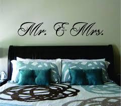 Mr And Mrs Wall Decal Sticker Vinyl Art Bedroom Living Room Decor Deco Boop Decals