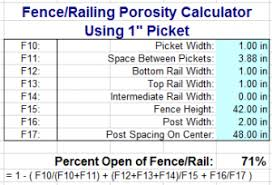 When Is A Fence Or Railing 75 Open Engineering Express