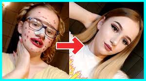 crazy makeup transformations tik tok
