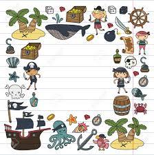 Ninos Jugando A Los Piratas Ninos Y Ninas Escuela Preescolar