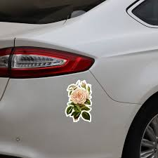 Ebdecal Rose Yellow Flowers Winding Graphic Decor For Auto Car Bumper Window Wall Decal Sticker Decals Diy Decor Ct5908 Car Stickers Aliexpress