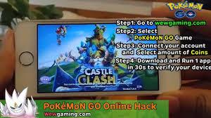 pokemon go hack 5.1 - pokemon go coins mod apk - YouTube