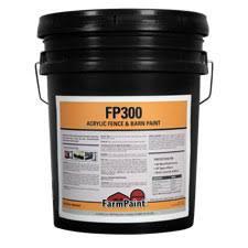 Fp300 Acrylic Black Fence Barn Paint 5 Gallon Barn Fence Paint Farmpaint Com