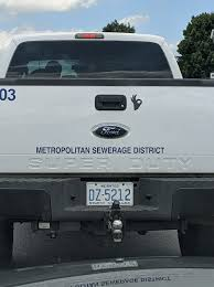Msd Investigating White Power Symbol On Truck