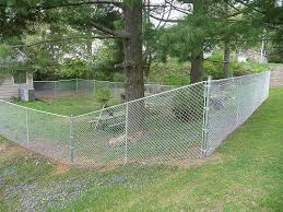 7 Ft Privacy Fence Galvanized Chain Link Fencing