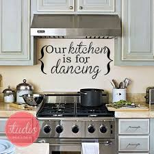 Our Kitchen Is For Dancing Wall Art Wall Vinyl Wall Sticker Wall Decal On Etsy 19 99 Kitchen Remodel Paris Kitchen Kitchen Renovation