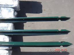 Pvc Coated T Fencing Post Real Time Quotes Last Sale Prices Okorder Com
