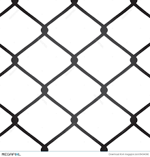 Chain Link Fence Vector Illustration 8434090 Megapixl