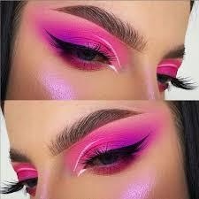 pink rose gold eye makeup looks ideas