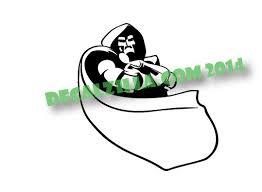 Fantastic 4 Dr Doom Decal Sticker