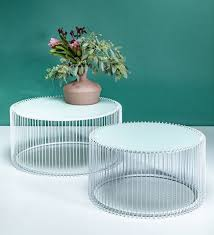 janse round coffee table set of 2