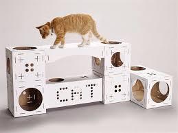 arbre à chat en kit et en carton et