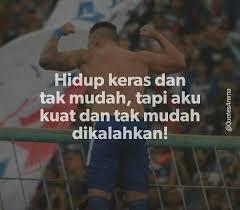 quotes arema satu kata untuk gladiator facebook