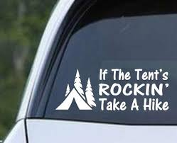 Camping And Hiking Decals Decals City