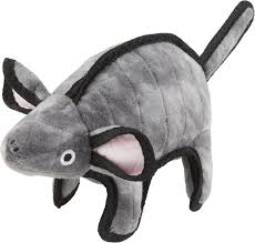 tuffy s gray mouse mo dog toy chewy