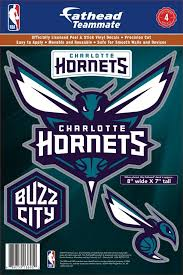 Fathead Charlotte Hornets Logo Wall Decal Dick S Sporting Goods