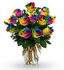 rainbow roses in san go ca