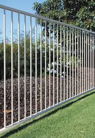 Aluminium Pool Fencing Panel Black
