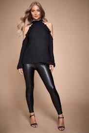 lipsy faux leather legging from the