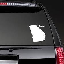 Georgia State Sticker
