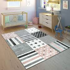 Grey 120cm D Dolity Round Fluffy Soft Area Rugs For Kids Room Children Room Girls Room