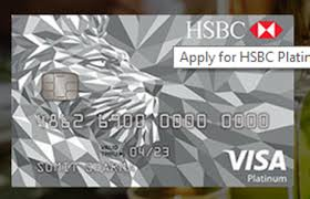 hsbc bank visa platinum credit card