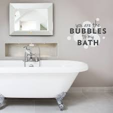 You Are The Bubbles To My Bath Wall Decal Quote Wall Decor Decals Wall Decal Sticker Wall Decals