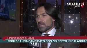 Elezioni regionali 2020: Rori De Luca candidato con