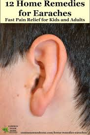 fast ear pain relief