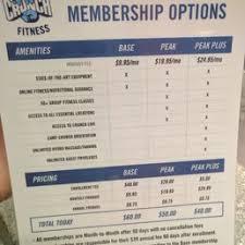 crunch fitness membership cost