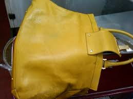 leather purse remove stains from