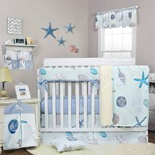 beach themed baby nursery bedding set
