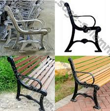 park bench wooden seat chair furniture