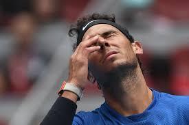 nadal defies tennis ball hair mishap