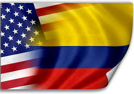 Amazon Com Expressitbest Sticker Decal With Flag Of Colombia And Usa Colombian Home Kitchen