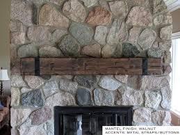 fireplace mantel barn beam mantel
