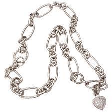 judith ripka heavy sterling chain
