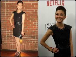 Kimiko Glenn a new face on Orange is the New Black wearing ...