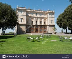 Park Hotel Villa Grazioli, Grottaferrata, Rome, Italy Stock Photo ...